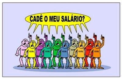 Resultado de imagem para Prefeitura salários dos servidores atrasados